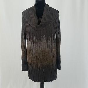 Alberto Makali women M cowlneck sweater dress wool